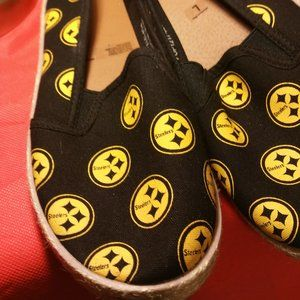 NFL Shoes - NFL PITTSBURGH STEELERS Women's Canvas 9
